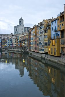 Free Architecture In Girona Stock Image - 16784631