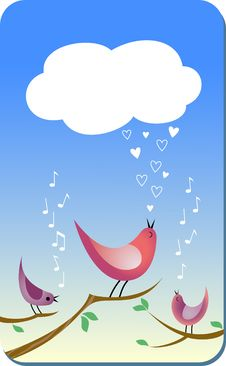 Love Song Stock Photo
