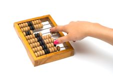 Free Wooden Abacus. Royalty Free Stock Photos - 16785698