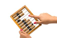 Free Wooden Abacus. Royalty Free Stock Images - 16785699