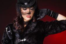Free Elegant Fashionable Woman Stock Photography - 16785702