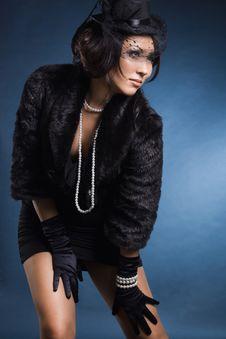 Free Elegant Fashionable Woman Stock Image - 16785761