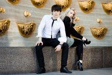Free Couple - Girl And Guy Stock Photo - 16786440