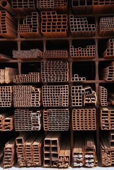Free Steel Pipes Royalty Free Stock Photo - 16786865