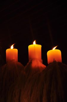 Free Candles Royalty Free Stock Images - 16787889