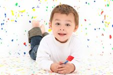 Free Boy Child Painting Royalty Free Stock Images - 16788199