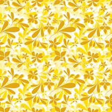 Free Seamless Floral Pattern Royalty Free Stock Photo - 16788355