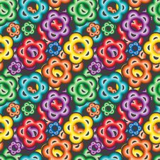 Free Seamless Vivid Pattern Stock Images - 16788374