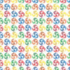 Free Seamless Vivid Swirl Pattern Royalty Free Stock Photo - 16788375