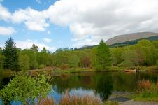 Free Reflections In The Loch Stock Images - 16788614