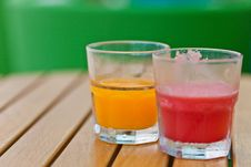 Free Fruit-juice On The Breakfast Table Royalty Free Stock Photography - 16788657