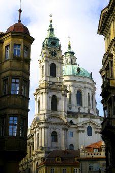 Free Saint Nicholas Church In Prague Stock Photos - 16789313