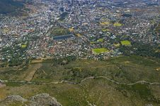 City Of Cape Town In South Africa