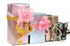Free Gift Boxes Royalty Free Stock Images - 16789469