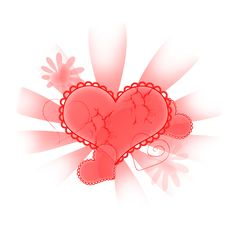 Free Abstract Heart Royalty Free Stock Images - 16789799