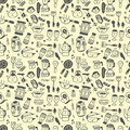Free Seamless Pattern Funny Cartoon Stock Images - 16794244