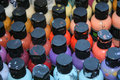 Free Colorful Paint Bottles Stock Image - 16795421
