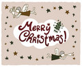 Free Beautiful Vector Christmas Royalty Free Stock Images - 16795489