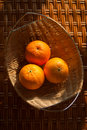 Free Oranges In The Wattled Bowl Royalty Free Stock Photo - 16796185