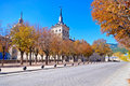 Free Fall In El Escorial Stock Photography - 16796922