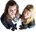 Free Two Young European Business Teenaged Girls Royalty Free Stock Photography - 16798337