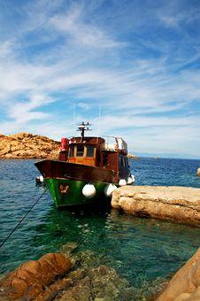 Free Green Boat Ship Stock Image - 16791031
