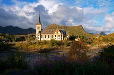 Free Vågan Church Royalty Free Stock Photography - 16791087