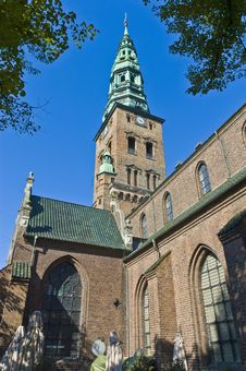 Free Nikolaj Church At Copenhagen Royalty Free Stock Photo - 16791145