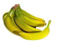 Bananas On The Table Royalty Free Stock Images