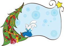 Free Rabbit Anr Tree Stock Photo - 16794240