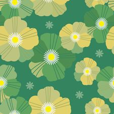Free Pattern Flower Seamless Royalty Free Stock Photo - 16794405