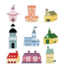 Free Cute House Icon Royalty Free Stock Images - 16794679