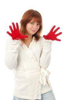 Free Beautiful Redhead Woman Royalty Free Stock Image - 16795056
