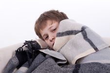 Free The Ill Boy Stock Photography - 16795182