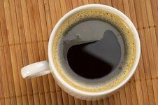 Yin Yang Coffee Stock Photo