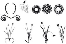 Free Floral Shapes Stock Images - 16796074