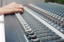 Free Sound Mixer Stock Images - 16796304