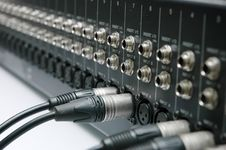 Free Connector Signal Sound Mixer Stock Photography - 16796322