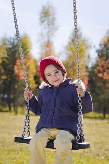 Free Swinging Girl Stock Photos - 16796413
