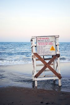 Free Lifeguard Stand Stock Image - 16796641