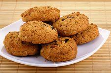 Free Oatmeal Cookies Stock Photo - 16796870