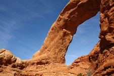 Free Natural Window In Arches National Park, Utah, USA Stock Photo - 16797110