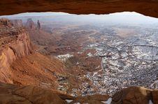 Free Window In Canyonlands National Park, Utah, USA Royalty Free Stock Image - 16797136