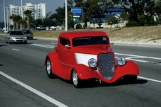 Free Classic Red Coupe Stock Photo - 16797160