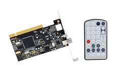 Free TV Tuner Card And Remote Control Royalty Free Stock Photography - 16797277