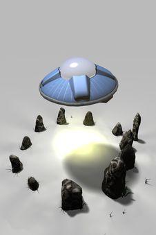 Free UFOs And Stone Circles Stock Photos - 16797973