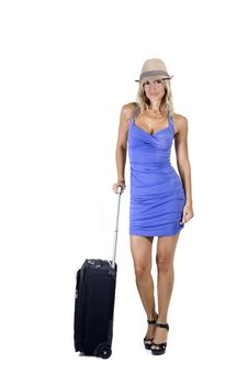 Free Travelling Woman Stock Image - 16798061