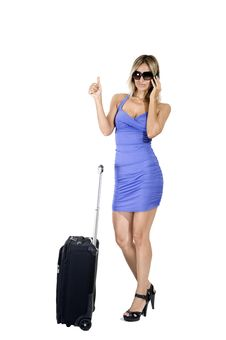 Free Travelling Woman Stock Images - 16798074