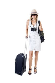 Free Travelling Woman Stock Photos - 16798143