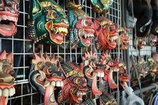 Mask Shop Stock Photography